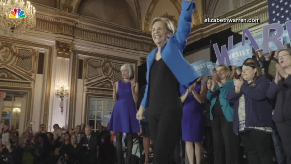 Sen. Elizabeth Warren Announces Exploratory Committee for Presidential Run