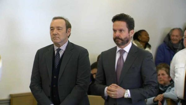 Kevin Spacey Pleads Not Guilty in Sexual Assault Case