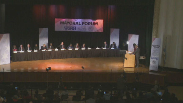 Fingers Pointed During First Televised Mayoral Forum