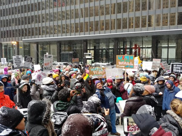 Young Women's March Rally Chicago 2019