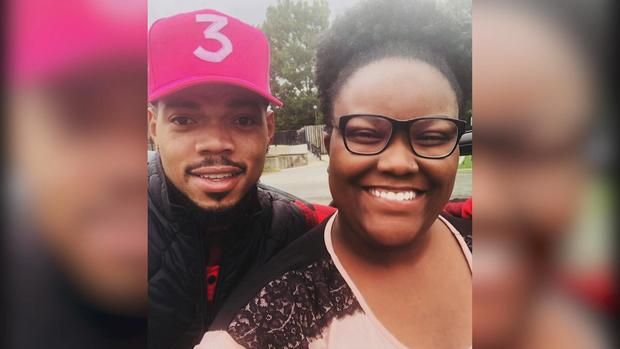 Lyft Rider Reacts to Being Picked Up by Chance the Rapper