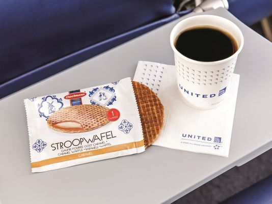 United bringing back Stroopwafel, passengers' cult-favorite snack