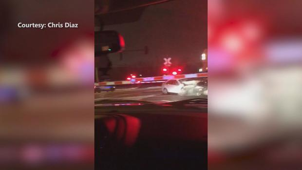 [CHI] Video: Metra Train Hits Car Moments After Elderly Driver Pulled From Vehicle