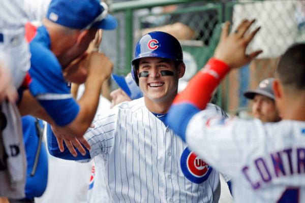 Cubs Star Anthony Rizzo Ties the Knot, Shares Wedding Photo