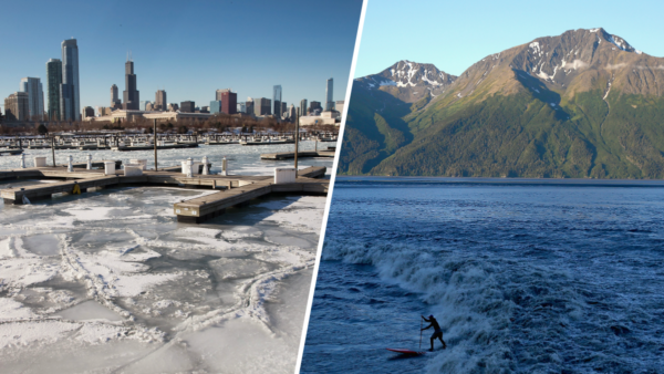 Chicago Is 30 Degrees Colder Than Alaska Today