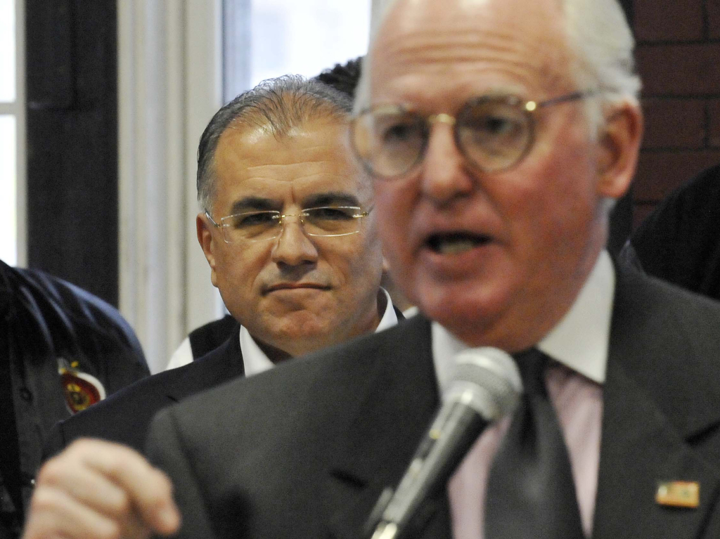 Ald. Edward Burke also backed Gery Chico during his 2011 mayoral campaign. l Sun-Times files