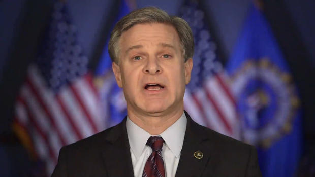 [NATL] FBI Director Wray Says He's 'Angry' About Shutdown
