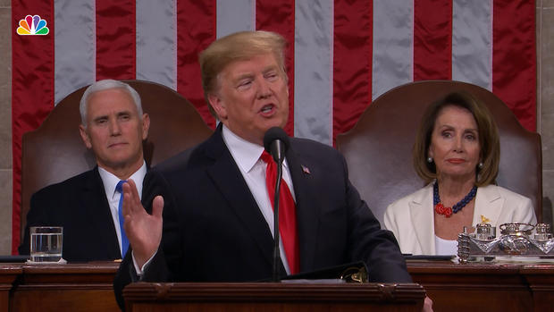 Top Moments From Trump's State of the Union