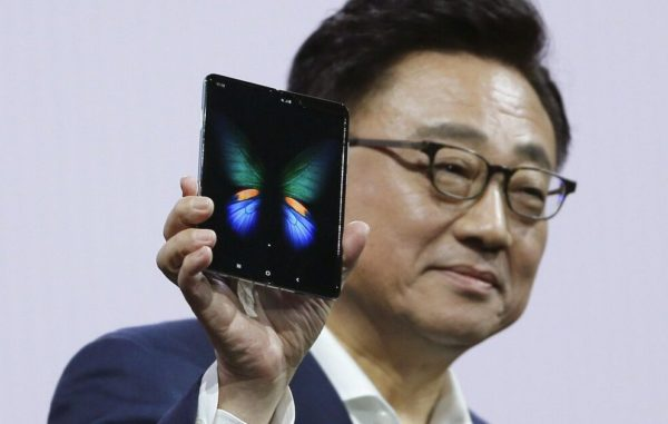 Samsung folding phone is different – but also almost $2,000