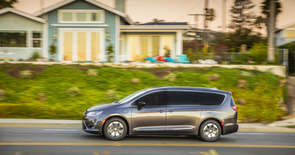Chrysler's hybrid minivan is game changer