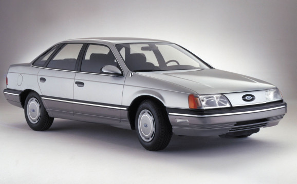 The 1986 Ford Taurus.   Ford Motor Co. photo
