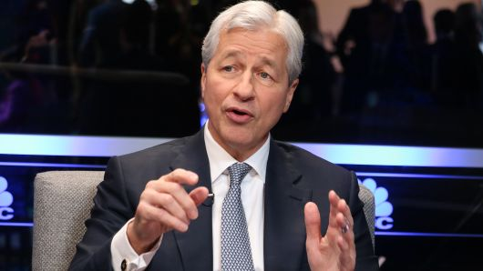Jamie Dimon, CEO of JP Morgan Chase, speaking at theBusiness Roundtable CEO Innovation Summit in Washington, D.C. on Dec. 6th, 2018.