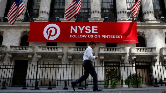 Pinterest gets first overweight rating before it goes public