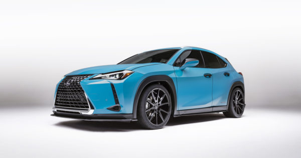 Lexus UX 250h: Hybrid delivers luxury AWD with 41 mpg
