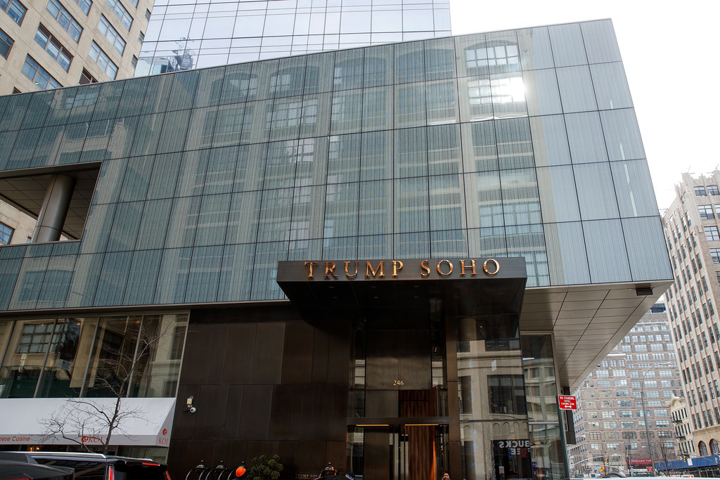 The Trump SoHo hotel was built in partnership with the Bayrock Group, where Felix Sater was managing director.