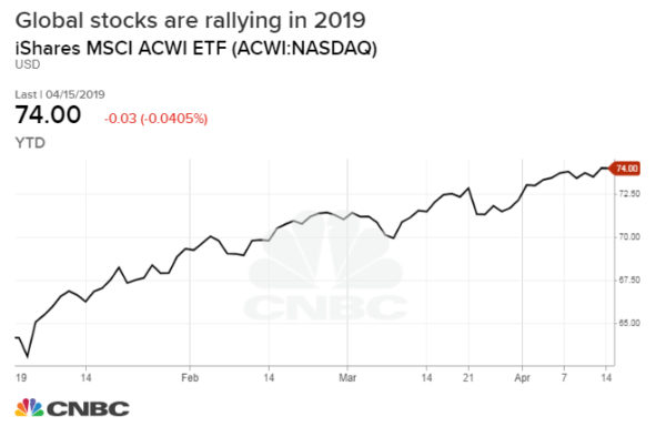 Stocks could have a 'melt-up' from here, BlackRock's Larry Fink says