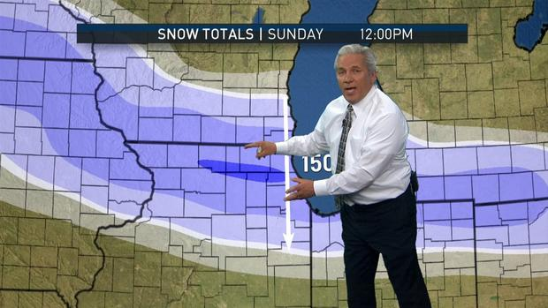 [CHI] Weekend Snowstorm: Where the Snow Will Fall and When