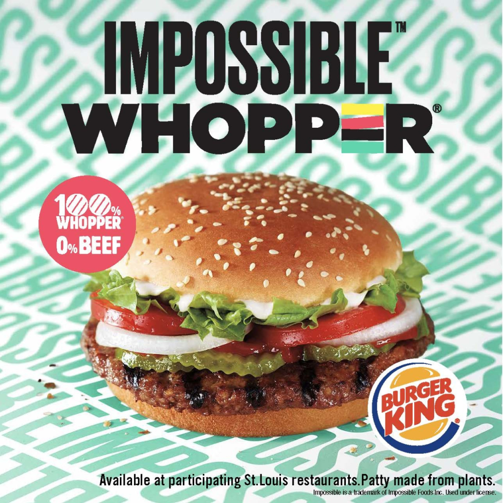 """The """"Impossible Whopper"""" 