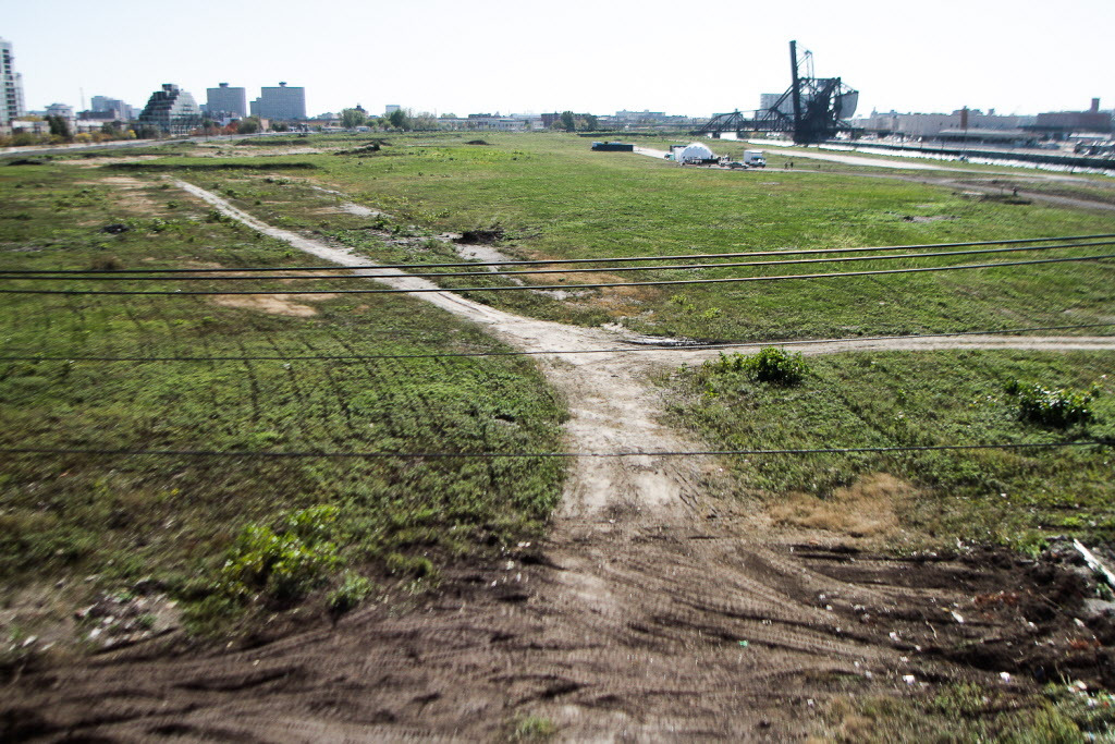 """The massive proposed development being marketed as """"The 78"""" would be built with millions of dollars of Chicago taxpayers financing on 62 vacant acres at Roosevelt Road and Clark Street in the South Loop."""