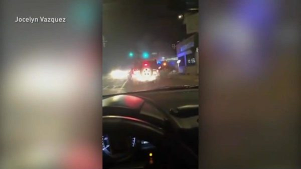Cellphone Footage Captured Saturday's Deadly CPD Crash