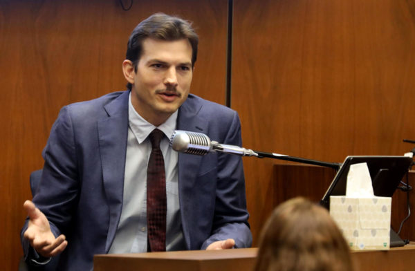 Ashton Kutcher Testifies in Accused Serial Killer's Murder Trial