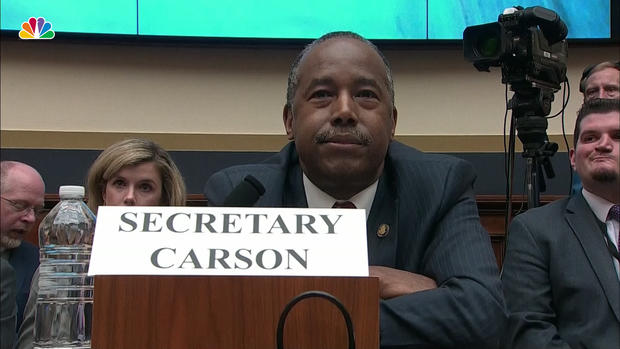 [NATL] Carson Won't Say If He'd Let Grandmother Live in Public Housing
