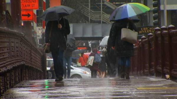 Showers, Potentially Severe Storms Possible Sunday