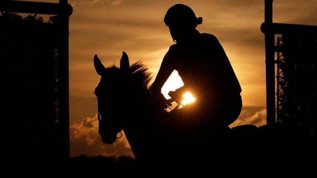 Top News Photos: Horses Prepare for 151st Belmont