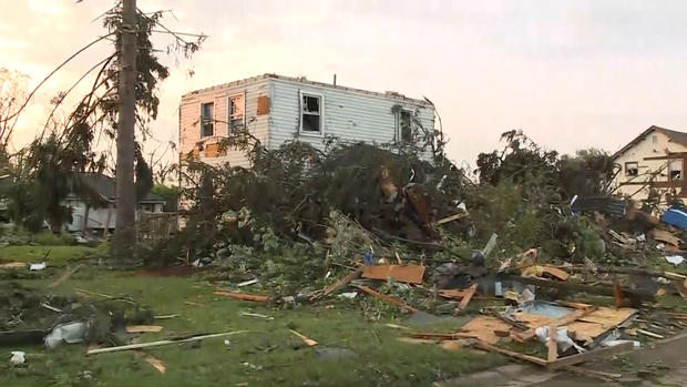 [NATL] 'It Destroyed the House': Twisters Rip Through Ohio, Indiana