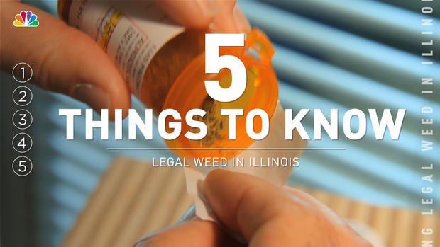 5 Things to Know About Legalizing Weed in Illinois