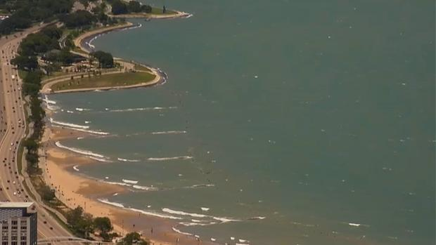 [CHI] What a Red Flag Means for Swimmers at Chicago Beaches