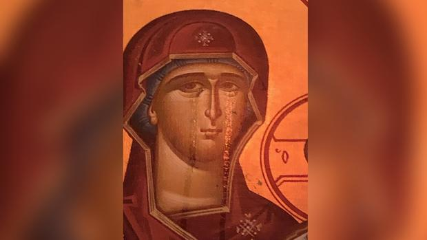 Church Members Say Weeping Virgin Mary is Sign of 'Miracle'