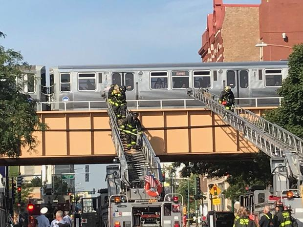 2 CTA Trains Appear to Collide on North Side