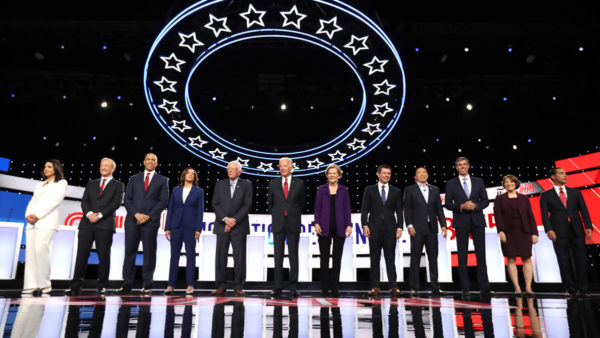 Live Coverage of the 4th Democratic Presidential Primary Debate