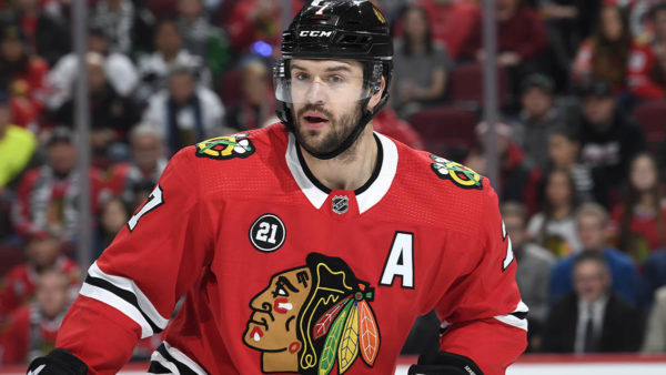 Brent Seabrook a Healthy Scratch vs. Predators, Colliton Says