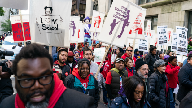 [CHI] Teachers' Strike Continues, Along With Negotiations