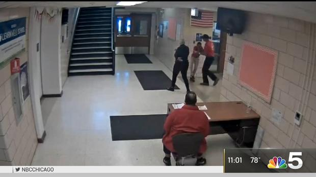 [CHI] Video Shows Boy, 9, Thrown Out of School Into Cold: Suit