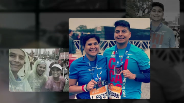 [CHI] Widow of Chicago Officer Fatally Struck By Train Runs Marathon in His Honor