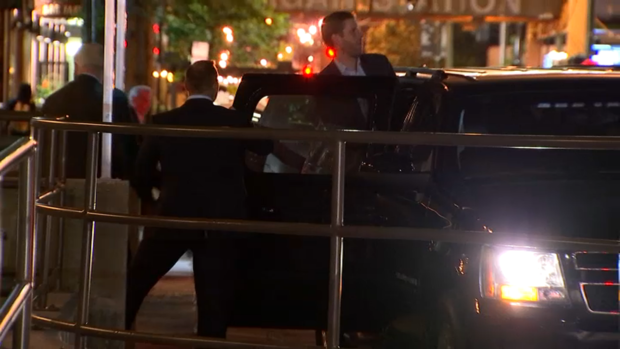 [NATL-CHI] Watch Eric Trump Leaving Chicago Bar After Being Spit on
