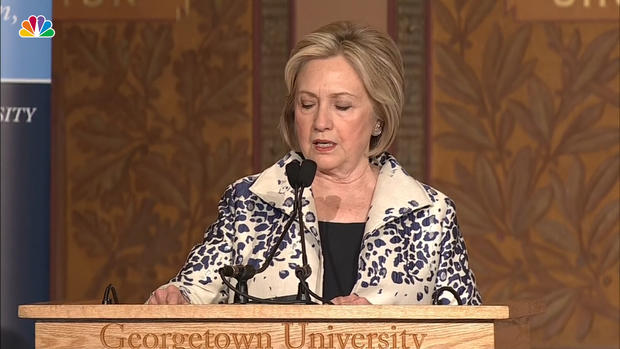 [NATL] Hillary Clinton on Impeachment Inquiry: 'This Is a Moment of Reckoning'