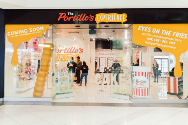 Portillo's Unveils a Cheesy New World in a Suburban Mall