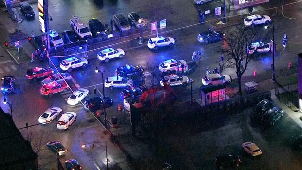 Sky 5: Multiple Shot in Old Irving Park