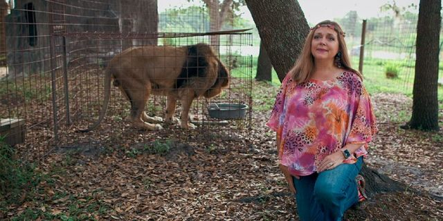 Carole Baskin the founder and CEO of Big Cat Rescue.