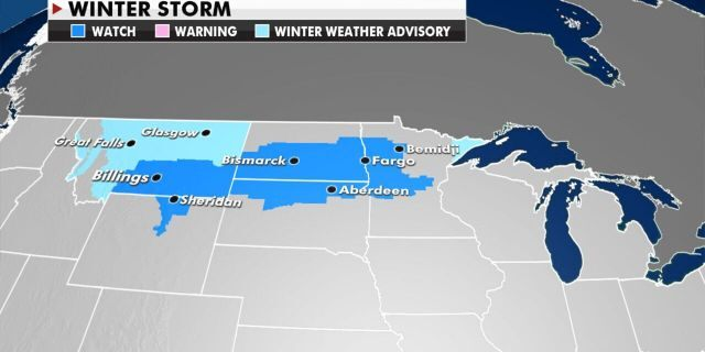 Winter storm watches have been posted across the Upper Midwest in advance of the next round of snow.