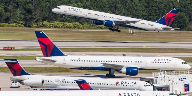 Delta Air Lines has resumed flights to a handful of cities where it temporarily cut service, but its suspensions at 16 other airports are ongoing. (iStock)