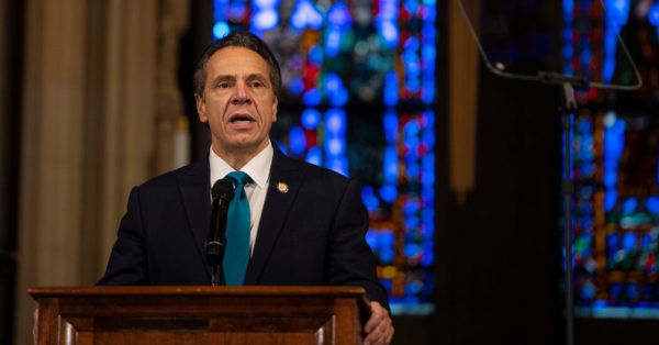 Cuomo Invited His Mother for Thanksgiving. New Yorkers Noticed.