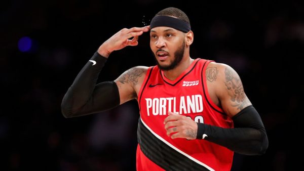 Blazers re-sign Carmelo Anthony and Rodney Hood, sign Derrick Jones Jr.