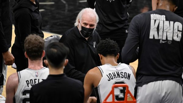 Spurs-Pelicans game called off, as NBA's virus woes continue