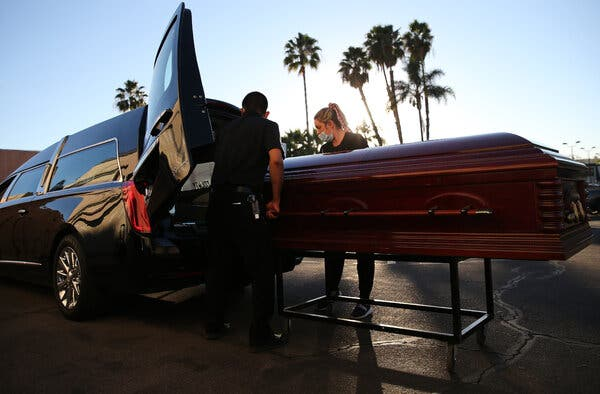 California, With 50,000 Lost, Has More Deaths Than Any Other State