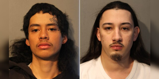 Sergio Rodriguez (left) and Jesus Moro (right) were arrested on first-degree murder charges last Friday after they allegedly shot and killed 16-year-old Julian Castillo.
